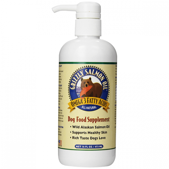 Grizzle Salmon Oil- Dog Food Supplement